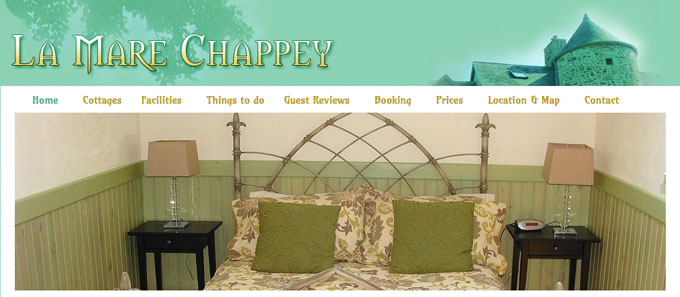 La Mare Chappey website