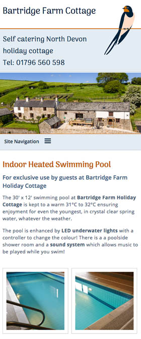 North Devon Cottage - Bartridge Farm Cottage