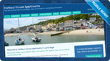 Harbour House Apartments in Lyme Regis