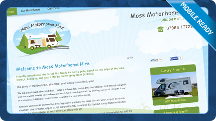 Moss Motorhome Hire in the Lake District