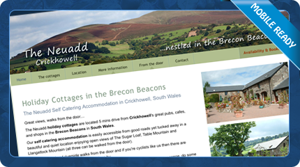 Neuadd Holiday Cottages in the Brecon Beacons