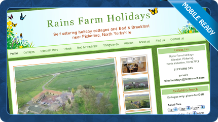 Rains Farm Holidays self catering cottages and bed and breakfast