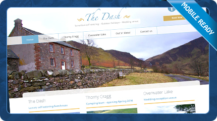 The Dash Self Catering Farmhouse near Keswick in the Lake District