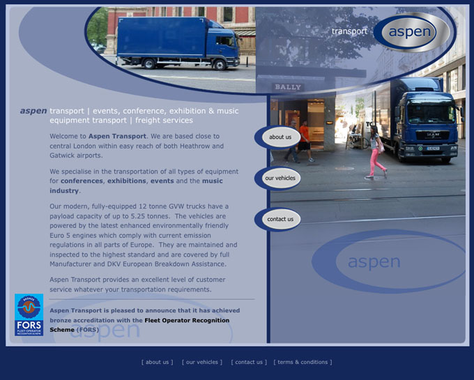 Aspen Bussing Website
