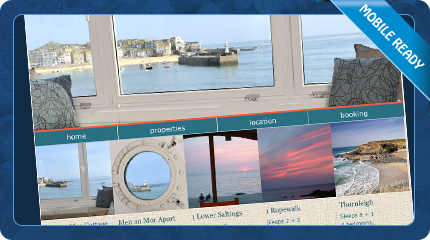 Beachshacks Holiday Cottages St Ives Website