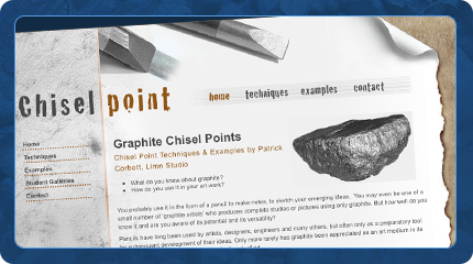Chisel Point Graphics Website