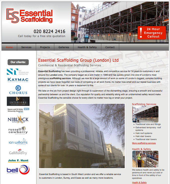 Essential Scaffolding London Scaffolding Services Commercial And Residential
