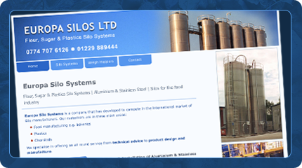 Europa Silo Systems Website