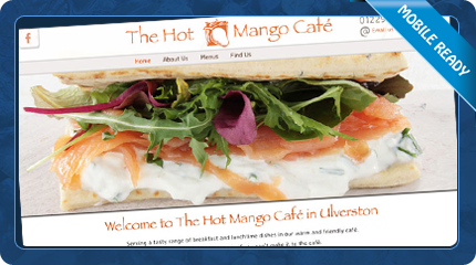 The Hot Mango Cafe in Ulverston