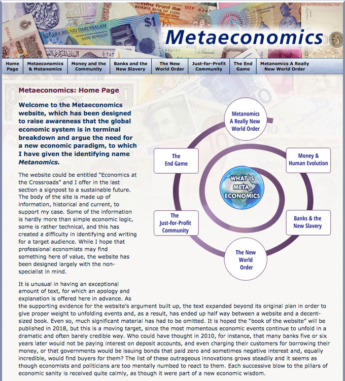 Metaeconomics Website